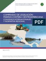 Compendio de Legislacion Marino Costera Centroamericana
