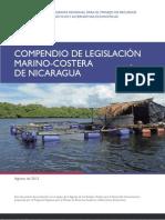 Compendio de Legislación Marino Costera de Nicaragua.