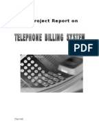 Paper format Telephone billing into Document format?