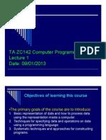 C-programming notes
