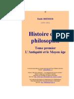 Brephi_1. Histoire de La Philosophie
