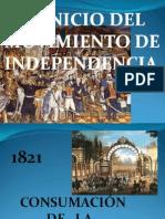 Momentos Históricos de La Independencia a La Revolución