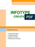 HR ABAP INFOTYPE