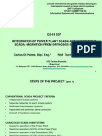 Integration of Scada Power Plant and Scada of Substations