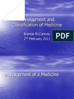 2011 02 28 Development Classification of Medicine
