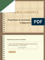 integrala definita