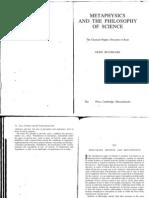 Gerd Buchdahll- Descartes Method and Metaphysics