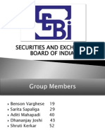 Role of SEBI and its power in the capital market