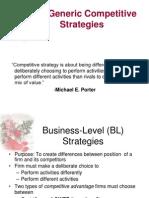 Generic strategies