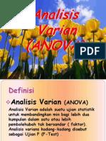 ANOVA Analisis Varian