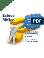 estudo biblico FATEC