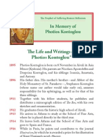 Life and Writings of Photius Kontaglu