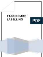 Fabric Care Lbelling