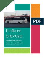 Troškovi prevoza autotransportnog preduzeća