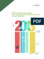 2013 Hotel Marketing Trends Vfmleonardo2012
