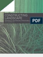 Landscape Constructing