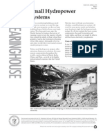 Intoduction to Small Hydropower Systems