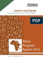 Africa Progress Report 2012