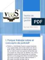 Teorías de justicia en la gestión pública