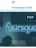 State of Foursquare 2010
