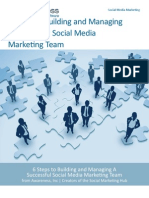 6 Steps to Building and Managing a Successful Social Marketing Team