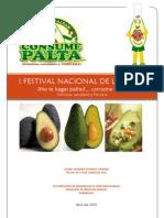 Informacion Del I Festival de La Palta