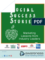 Social Marketing Success Stories
