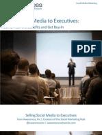 Selling Social Media to Executives