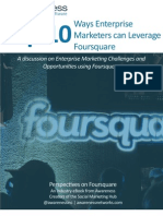 Top 10 Ways Marketers Can Leverage Foursquare