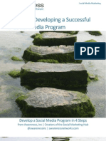 4 Steps to Developing a Successful Social Media Program