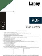 LX35-LX35R Manual - 2006 - Issue 1