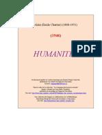 Alain [Emile Chartier] - Humanites [1946]