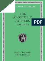 Ehrmann apostolic fathers