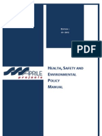 Aprile HSE Policy Manual