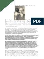 Anfang 1952 wurde der Notstandsrat Europäischer Rabbiner dringend zu einer Zusammenkunft nach