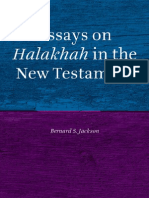 Essays on halakah