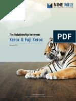 The Relationship between Xerox and Fuji Xerox
