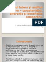 Auditul intern și auditul extern – caracteristici,