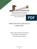 Projeto de Instalações de Gás Combustível