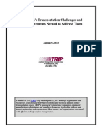 TRIP report on MN Transportation Challenges -- February 6, 2013