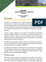 Diploma Finanzas NIIF 2013