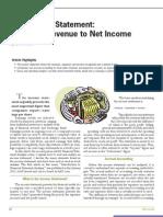 Income Statement Financial Statement Analysis