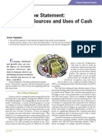 Financial Statement Analysis for Cash Flow Statement