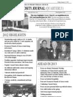 q4 2012 Generosityjournal11 x 17