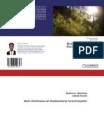 Biotic Interferences of Shankeracharya Forest Ecosytem Srinagar Kashmir