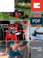 Catalogo Einhell 2012
