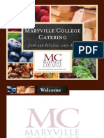 Maryville College Catering Guide