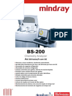 Manual Bs 200 Mindray