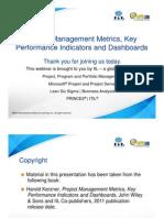 2010 IPM Day Metrics Kerzner