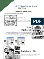 Editing One Piece